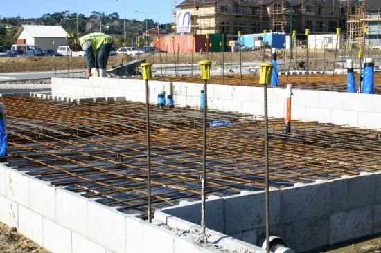 Complete Reinforcing supplying steel wire rebar and mesh for residential concrete foundation